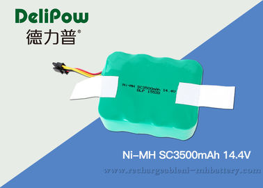 China 15520 SC350mAh 14.4V NIMH Rechargeable Battery Pack For Cordless Phones  supplier