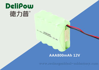 China Portable DVD 12 Rechargeable Battery Pack AAA 800mAh With 3 Years Cycle Life supplier
