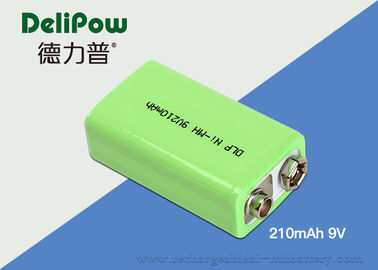 China Environmental Industrial Rechargeable Battery 9v 210mAh For Bicycle Headlight supplier