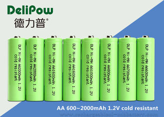 China AA Series Low Temperature Rechargeable Batteries 600 / 700 / 900 / 1000 / 1600 / 2000mAh supplier