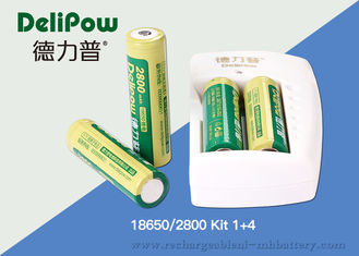 China Battery Charger 18650 Lithium Rechargeable Battery With 3 Years Cycle Life supplier