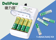 China 1.2V Portable 8 1000mAh Rechargeable AAA Batteries With Charger factory