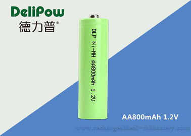 800mah Nimh Rechargeable Batteries , Rechargeable Aa Nimh Batteries Green Power