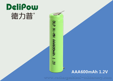 600mAh AAA NIMH Rechargeable Battery With Wide Temperature Range
