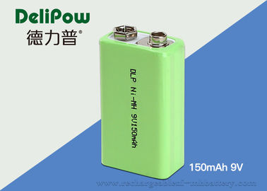 9V 150mAh Industrial Rechargeable Battery With SGS / UL / CE / ROHS