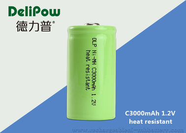 Green Power C3000mAh High Temperature Rechargeable Battery 1.2 Voltage