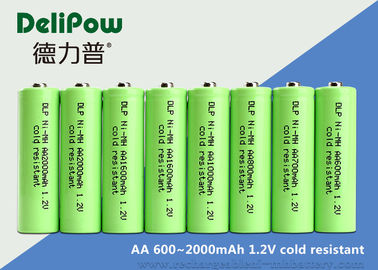 AA Series Low Temperature Rechargeable Batteries 600 / 700 / 900 / 1000 / 1600 / 2000mAh