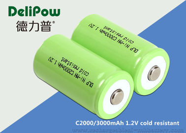 Cold Resistant C Size Low Discharge Rechargeable Batteries C2000 / 3000