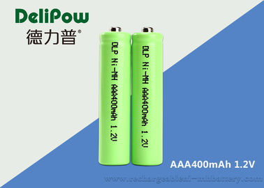 Customized 1.2V 400mAh AAA NIMH Rechargeable Battery For Digital  Camera