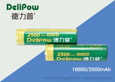 Heat Resistant 18650 Rechargeable Lithium Battery With UL / CE / ROHS
