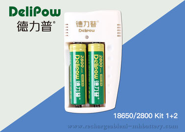 2800mah Lithium Rechargeable Battery With Msds / UL Ni-MH Battery Certification