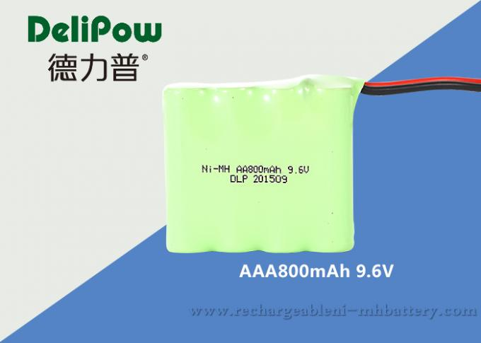 Emergency Light NIMH Aaa Battery Packs Rechargeable 9.6V 800mAh